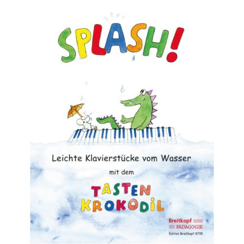 🐊 玩水的小鱷魚 🐊-簡易鋼琴曲集 Splash!Easy piano pieces about Water