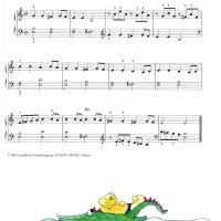 🐊 玩水的小鱷魚 🐊-簡易鋼琴曲集 Splash!Easy piano pieces about Water 1