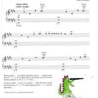 🐊 玩水的小鱷魚 🐊-簡易鋼琴曲集 Splash!Easy piano pieces about Water 3