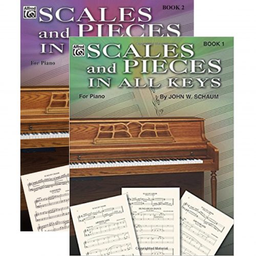 Scales and Pieces in All Keys 1