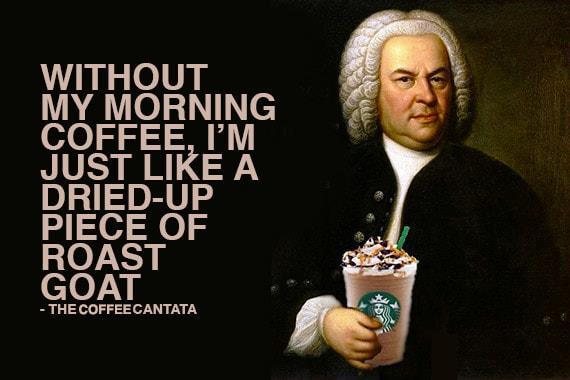 你今天咖啡一下了嗎?