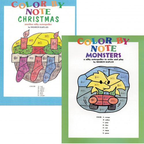 Color by Note Christmas/Monsters