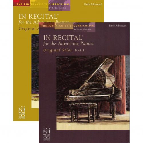 In Recital! for the Advancing Pianist, Book 1