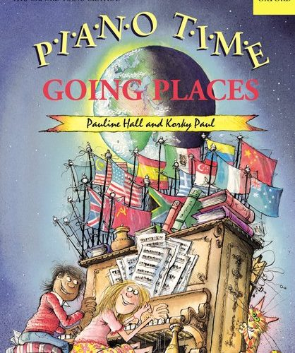 PIANO TIME 系列 -  (Dance / Going Places /  Prehistoric / Spooky) 8