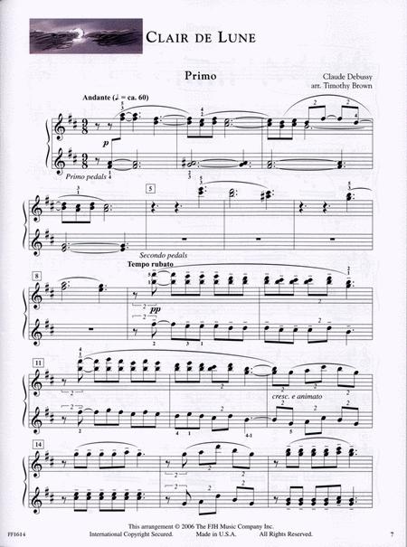 音樂會四手聯彈選集-In Recital Duets, Vol. 1, Book 3-6 4