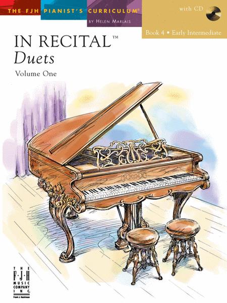 音樂會四手聯彈選集-In Recital Duets, Vol. 1, Book 3-6