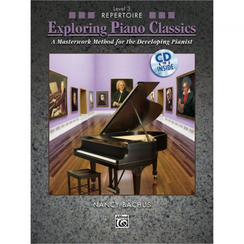 (瑕疵)探索古典樂 – Exploring Piano Classics Repertoire, Book 3