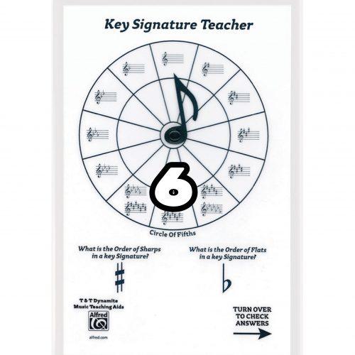 【預購 6】 Key Signature Teacher-調號學習盤