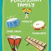 【預購 7】 Instrument Parade -樂器介紹大卡 4