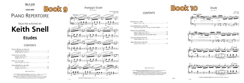 Keith Snell-Piano Etudes 5