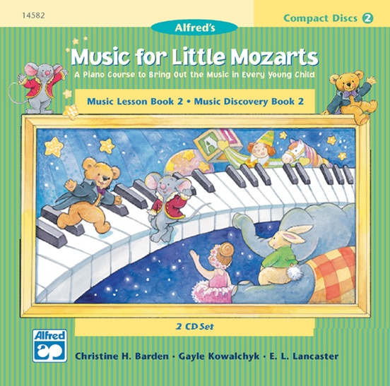 CD 2-Disc Sets for Lesson and Discovery Books 1