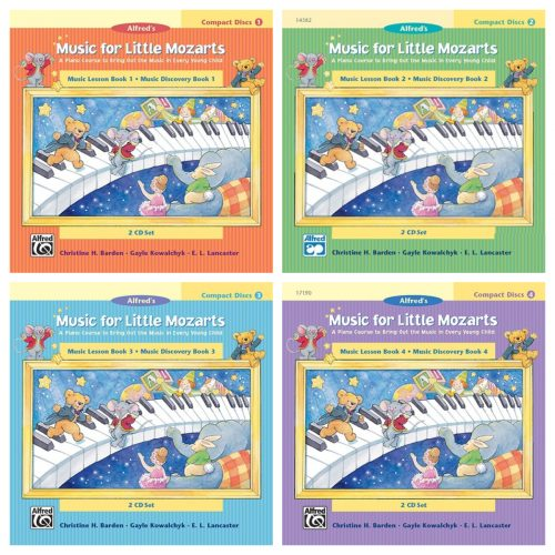 CD 2-Disc Sets for Lesson and Discovery Books 4