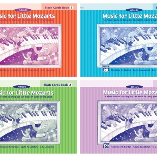 Music for Little Mozarts -Flash Cards 1