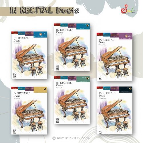 -【At Home】音樂會四手聯彈選集-In Recital Duets,